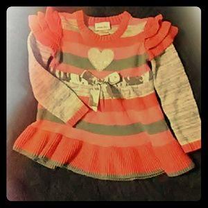 Little Lass Girls Sweater Dress